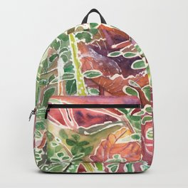Frozen Foliage Backpack