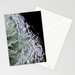 churning waters Stationery Cards