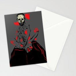 Halloween bones Stationery Cards