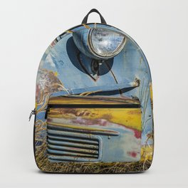 Antique Farm Truck Backpack