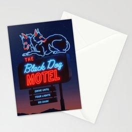 The Black Dog Motel Stationery Cards