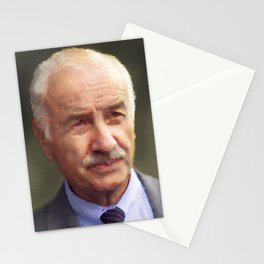 Secondary actor portrait Stationery Cards