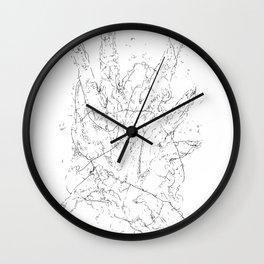 study of hands Wall Clock