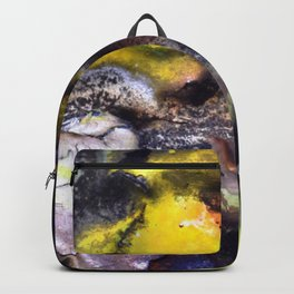 Guitar in the sand Backpack