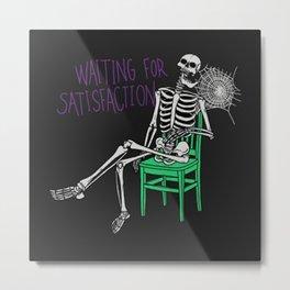 still-waiting-t-shirt Metal Print