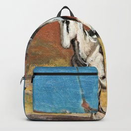 Honore Daumier - Don Quijote and Sancho Panza - Digital Remastered Edition Backpack
