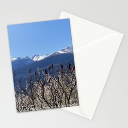 Spring view on the Montcalm mountains Stationery Cards