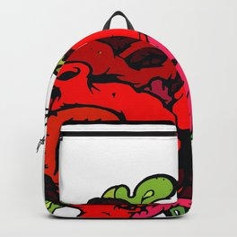 Messy Heart Backpack
