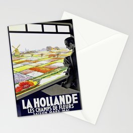 Retro La Hollande Stationery Cards
