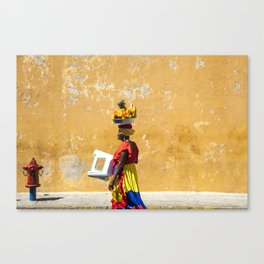 Palenquera Canvas Print