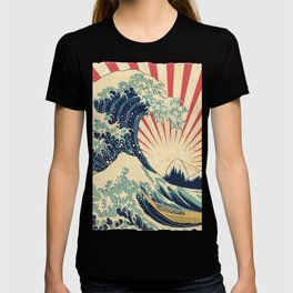 The Great Wave in Rio T-shirt