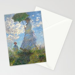 Monet - Madame Monet and Her Son - 1875 Stationery Cards
