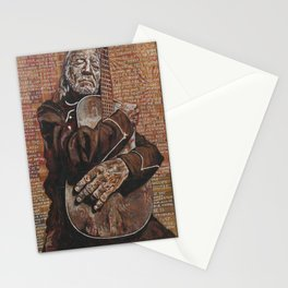 Willie's Guitar Stationery Cards