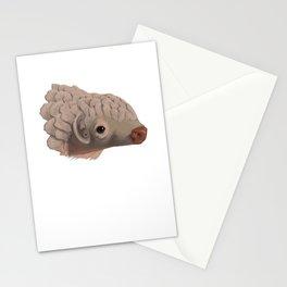 Pangolin Splatter Stationery Cards