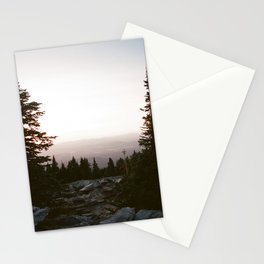 Mt Spokane Sunset Stationery Cards