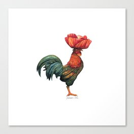 Poppycock 1 Pun Canvas Print
