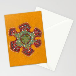 Growing - Casuarina - plant cell embroidery Stationery Cards