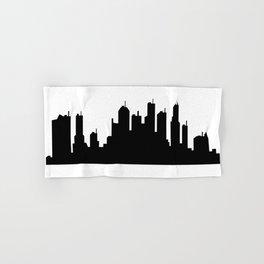 city skyline Hand & Bath Towel