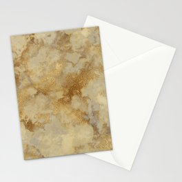 Gold Marble Stationery Cards