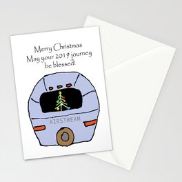 Airstream 2019 Christmas card Stationery Cards
