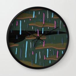 The Precipice Wall Clock