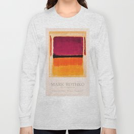 Mark Rothko Exhibition poster 1979 Long Sleeve T-shirt