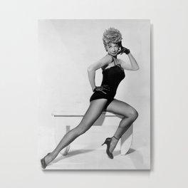 Gwen Verdon Metal Print