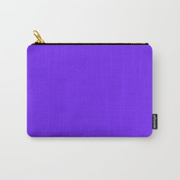 Luxe Lavender   Solid Color Carry-All Pouch