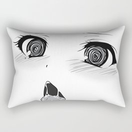 Ahegao III Rectangular Pillow