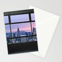 New York City Skyline Views Stationery Cards