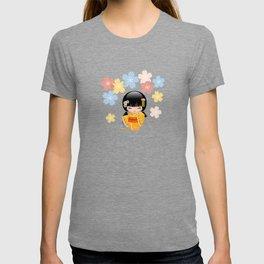 Japanese Summer Kokeshi Doll T-shirt