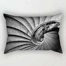 Sand stone spiral staircase Rectangular Pillow