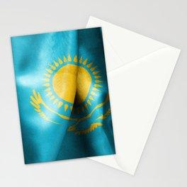 Kazakhstan Flag Stationery Cards