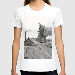 Godzilla King of Monsters Ironwood Michigan 1898 T-shirt