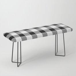 Buffalo Check - black / white Bench