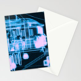 RF295 Town Z47 - WIRE Stationery Cards