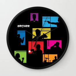 Archer Intro Wall Clock