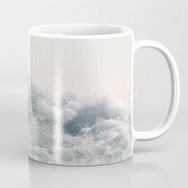 Waves and Sunrise   Happy Summer Photography   Ocean   Beach Vibes   Tropical Water   Sea Coffee Mug