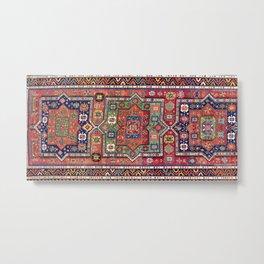 Kuba Sumakh East Caucasus Antique Rug Print Metal Print