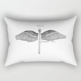 Match Made in Heaven Pun Rectangular Pillow