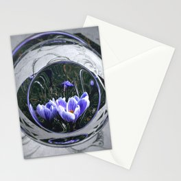 First blossoms of another spring Stationery Cards