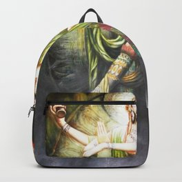 Hindu Durga 2 Backpack
