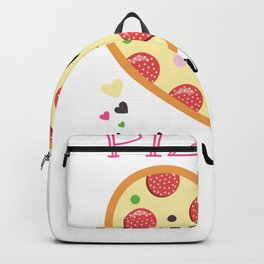 Sad Love Story Pizza is My Valentine I Hate Valentines Day Breakup Breaking Up Backpack