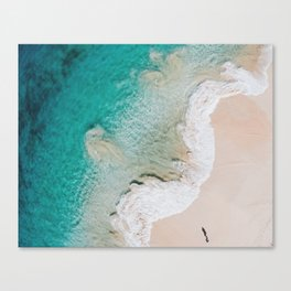 Swirling Tides Canvas Print
