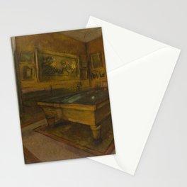 Billiard Room at Ménil-Hubert Stationery Cards