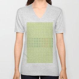 Pattern_B08 Unisex V-Neck