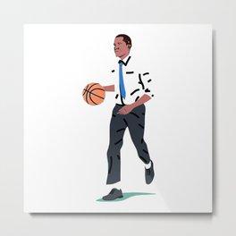 Balling Barack Metal Print