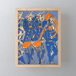 deko fetes de geneve fetes de geneve Framed Mini Art Print