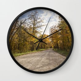 Country Road 6 Wall Clock