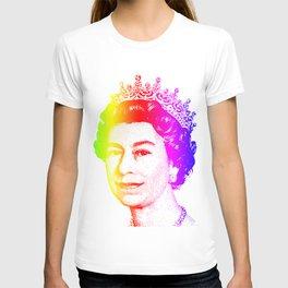 Queen Elizabeth Rainbow T-shirt